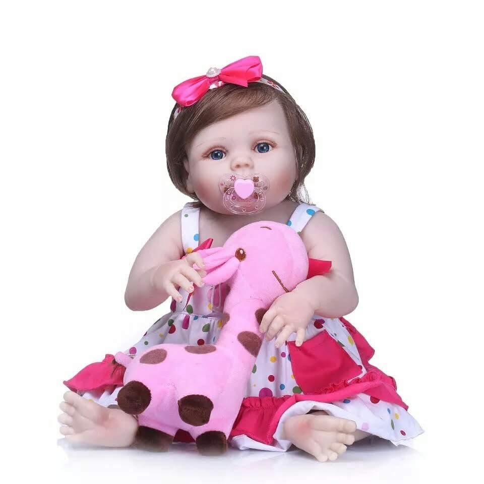 b5bd46229 Bebe reborn boneca realista inteira de silicone pode dar banho Bebel